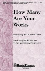 How Many Are Your Works Sheet Music Sheet Music