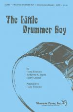 The Little Drummer Boy TTBB Version Sheet Music Sheet Music