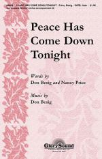 Peace Has Come Down Tonight Sheet Music Sheet Music