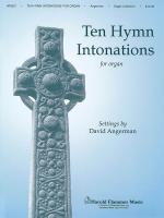 Tenor Hymn Intonations Organ Collection Sheet Music