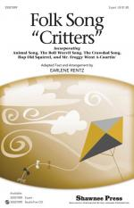 Folk Song Critters Sheet Music Sheet Music