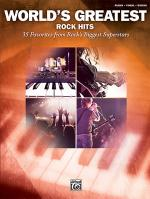 World's Greatest Rock Hits - Book Sheet Music