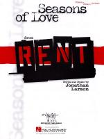 Seasons Of Love (From Rent) Sheet Music Sheet Music