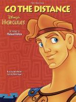 Go The Distance From Disney's Hercules Sheet Music Sheet Music