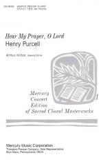 Hear My Prayer, O Lord - CHORAL PART(S) Sheet Music
