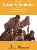 Good Vibrations Sheet Music Sheet Music