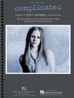 Complicated Avril Lavigne Sheet Music Sheet Music
