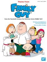 Theme From Family Guy Sheet Music Sheet Music