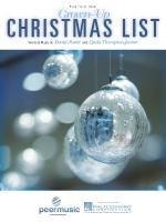 Grown-Up Christmas List Sheet Music Sheet Music