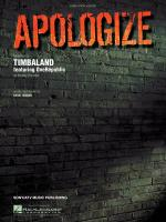 Apologize Sheet Music Sheet Music