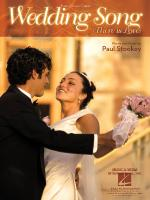 The Wedding Song (There Is Love) Sheet Music Sheet Music