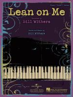 Lean On Me Sheet Music Sheet Music