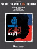 We Are The World - 25 For Haiti Sheet Music Sheet Music