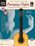 Pumping Nylon: Complete (A Classical Guitarist's Technique Handbook) - Book, DVD & CD Sheet Music