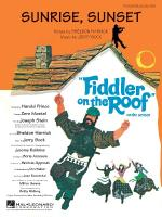 Sunrise, Sunset (From Fiddler On The Roof) Sheet Music Sheet Music