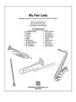 My Fair Lady (A Choral Medley: I Could Have Danced All Night / On the Street Where You Live / Wouldn Sheet Music