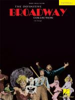 The Definitive Broadway Collection - Second Edition Sheet Music