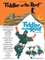 Fiddler On The Roof Vocal Selections Sheet Music