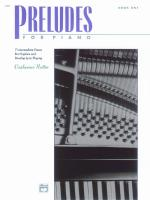 Preludes For Piano, Book 1 (7 Intermediate Pieces that Explore and Develop Lyrical Playing) Sheet Music