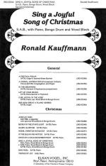 Sing A Joyful Song Of Christmas - CHORAL PART(S) Sheet Music