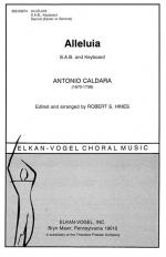 Alleluia - SAB And Keyboard PIANO REDUCTION/VOCAL SCORE Sheet Music