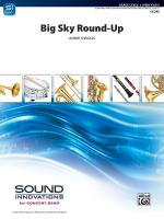 Big Sky Round-Up - Conductor Score Sheet Music