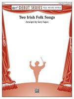 Two Irish Folk Songs - Conductor Score Sheet Music