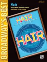 Hair (Broadway's Best) (10 Selections from the Musical) - Book Sheet Music
