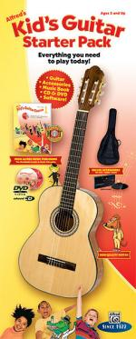Alfred's Kid's Guitar Course, Complete Starter Pack (Everything You Need to Play Today!) - Book, Enh Sheet Music