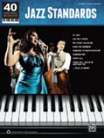 40 Sheet Music Bestsellers: Jazz Standards - Book Sheet Music