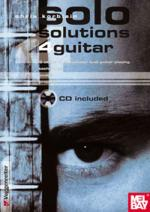 Solo Solutions 4 Guitar Book/CD Set (3 Steps to Successful Lead Guitar Playing) Sheet Music