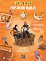 Just for Fun: Pop-Rock Banjo (12 Great Current Hits) - Book Sheet Music