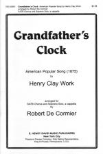 Grandfather's Clock SATB Sheet Music