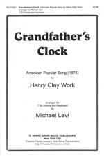 Grandfather's Clock TTBB Sheet Music
