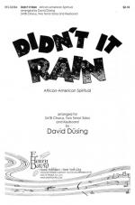 Didn't It Rain - African-American Spiritual Sheet Music