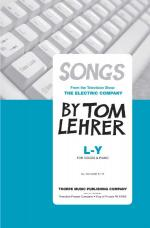 L - Y - For Voices And Piano Sheet Music