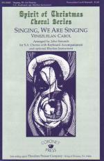 Singing, We Are Singing Sheet Music
