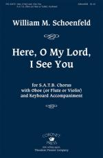 Here, O My Lord, I See You Sheet Music
