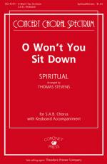 O Won't You Sit Down Sheet Music