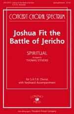 Joshua Fit The Battle Of Jericho Sheet Music