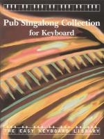 Pub Singalong Collection - Book Sheet Music