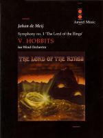 Lord Of The Rings, The (Symphony Number 1) - Hobbits - Movement V Parts Only Sheet Music