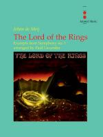 The Lord Of The Rings (Excerpts From Symphony Number 1) - Concert Band Parts Only Sheet Music