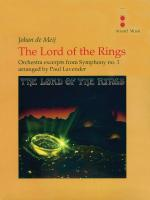 The Lord Of The Rings (Excerpts From Symphony Number 1) - Orchestra Score & Parts Sheet Music