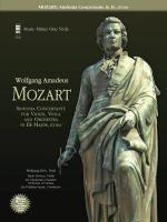 Mozart - Sinfonia Concertante In Eb, Kv364 2-CD Set For Viola Sheet Music