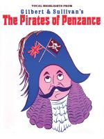 Gilbert & Sullivan's The Pirates Of Penzance Vocal Selections Sheet Music