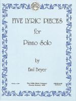 Five Lyric Pieces Early Advanced Level Sheet Music