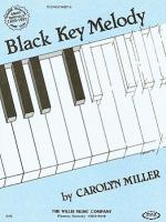 Black Key Melody Later Elementary Level Sheet Music Sheet Music