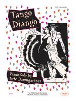 Tango Django Early Intermediate Level Sheet Music Sheet Music