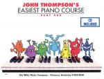 John Thompson's Easiest Piano Course - Part 1 - Book/CD Pack Part 1 - Book/CD Sheet Music